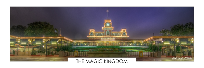 Early bird gets the worm situation.  This is what Walk Disney World's Magic Kingdom looks like at 4:30 am.