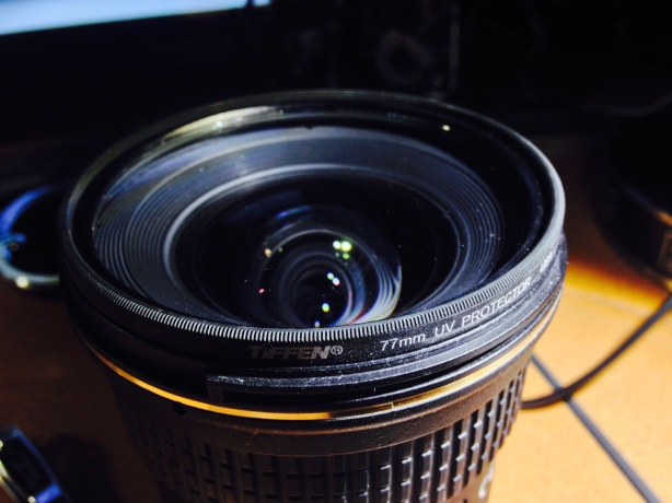 My first accessory for every lens - UV filter.
