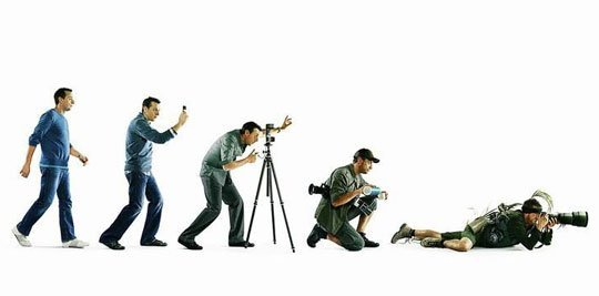 The evolution of a photographer.