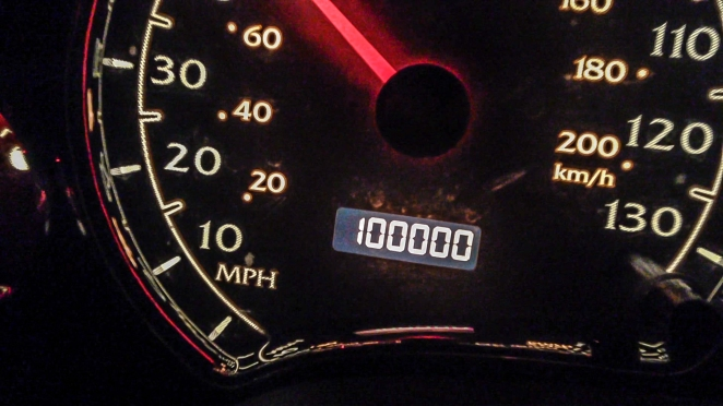 Just hit 100K on my first new car!