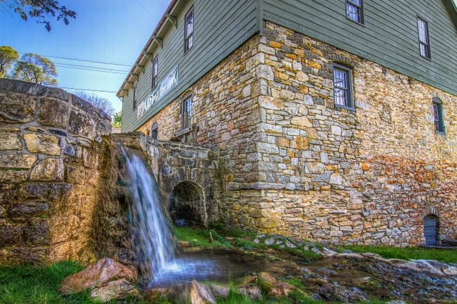 Some wonderful scenery in Clarke County, VA including the Burwell Morgan Mill.