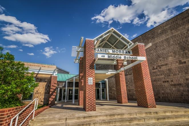 Daniel Morgan Middle School in Winchester, VA.