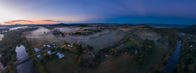 I've been doing aerial panoramas for a while now, but picked up a few tips recently on further reducing noise in my low-light images.