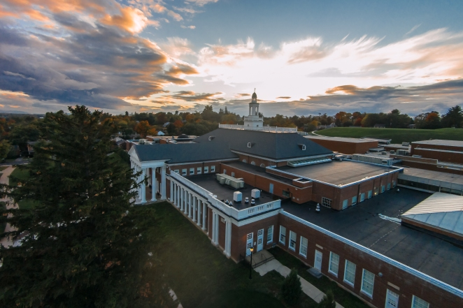 Another great sunset over Handley High School. | Order a print of this image.