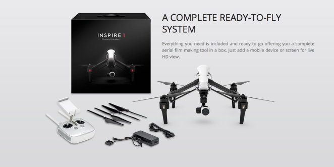 DJI's new product launched today.  Anybody want to finance this for me...?